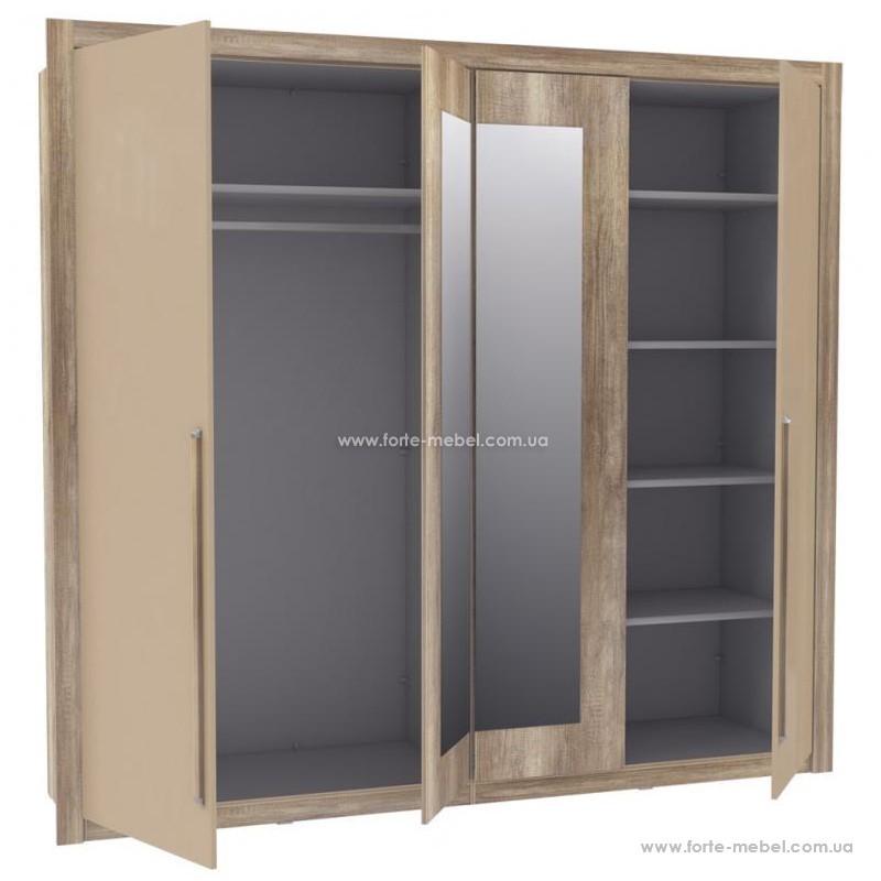 Шкаф для одежды Malvagio MLVS84S
