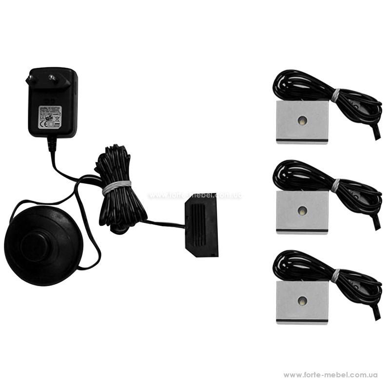 Набор 3-точечного светодиодного освещения Recent IZLED08